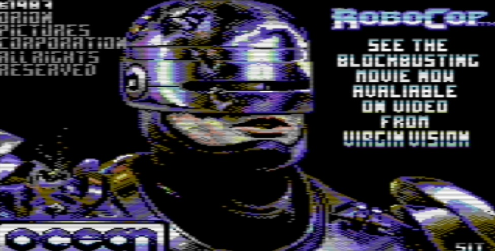 c64 robocop how to start game
