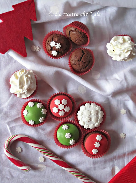 mini cupcakes al cacao