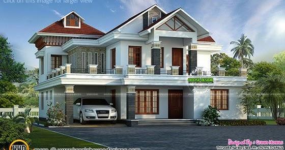 kerala home design and floor plans dream home india