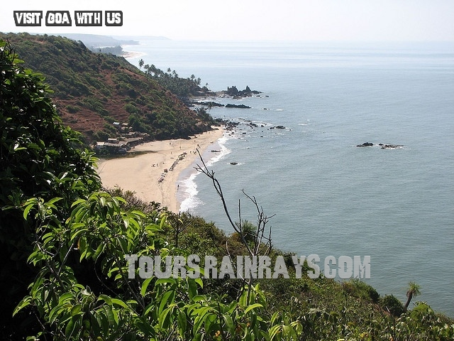 Arambol Barch Goa India. Visit India and know about real India