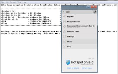 Download Hotspot Shield EliteTerbarru V4.15 Full Version