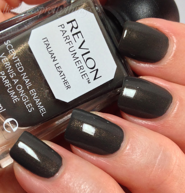 Revlon Parfumerie Italian Leather swatch and review