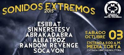 Festival Sonidos Extremos 2015