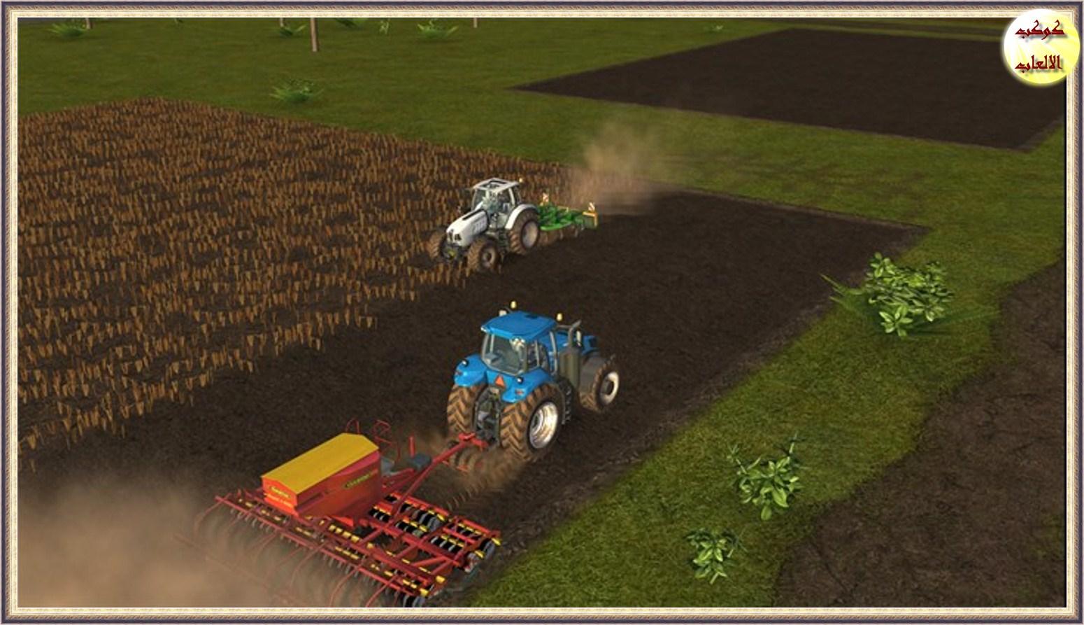 تحميل لعبة قيادة الجرار الزراعى 2016 Download Farming Simulator for andriod