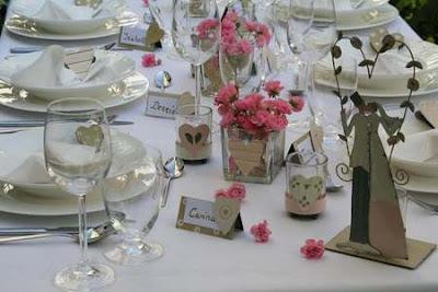 Decoração para Jantar de Casamento