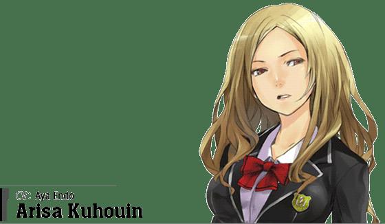 Arisa Kuhouin (CV: Aya Endo)