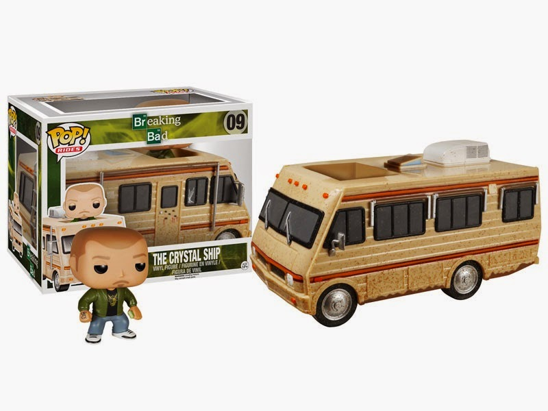 Breaking Bad The Crystal Ship RV Pop! Ride with Jesse Pinkman Pop! Vinyl Figure by Funko