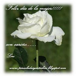 Lorena, gracias por acordarte de mi, me he decidido por la pureza de la rosa blanca