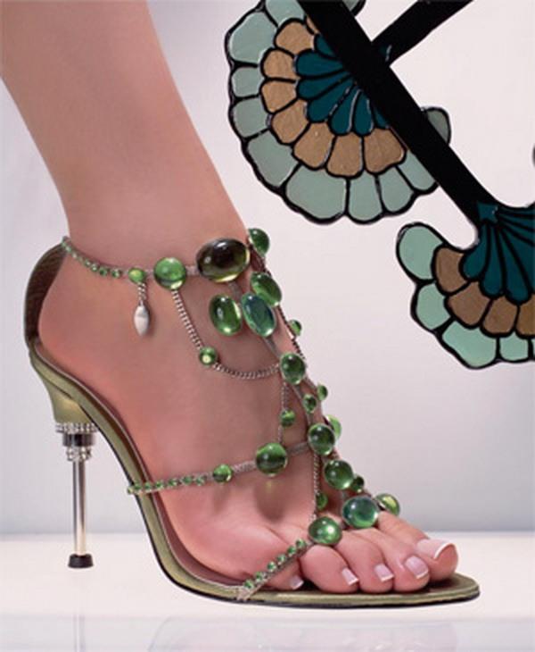 Туфли на каблуке вечерние