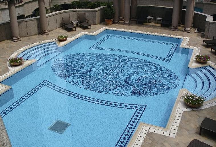 Swimming Pool Mosaic Tile Designs