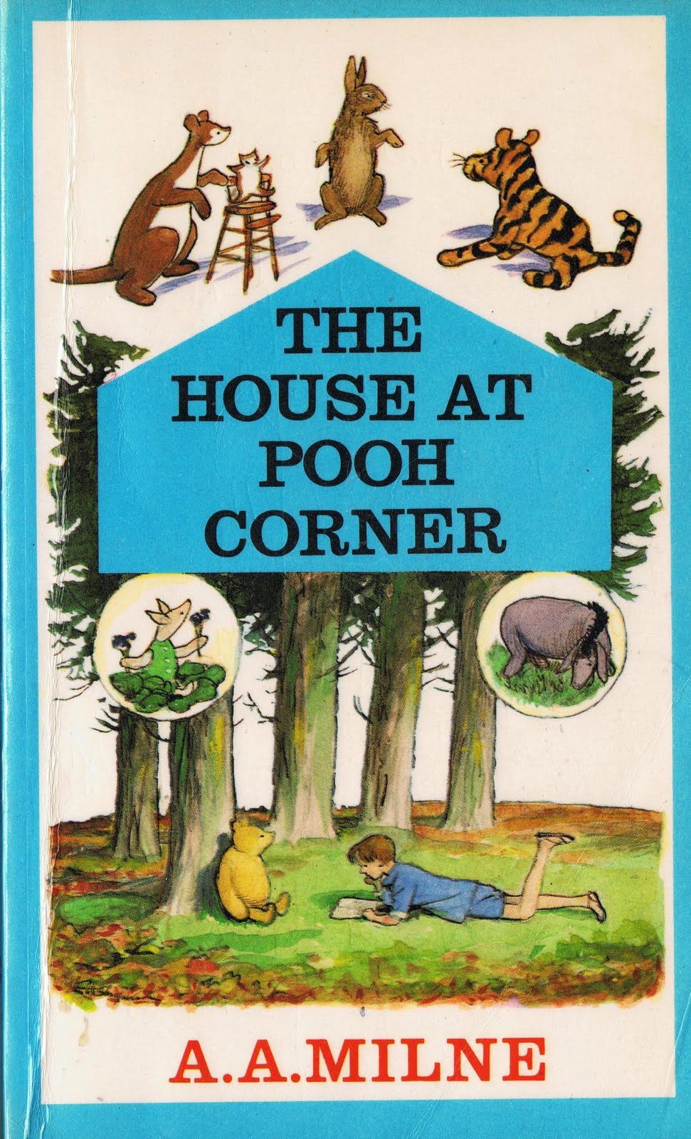 little library of rescued books the house at pooh corner