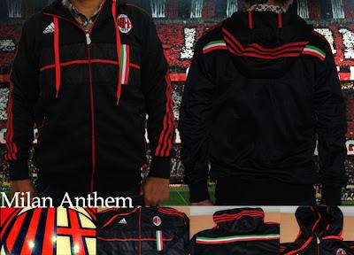 Jaket AC Milan Anthem