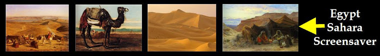 Egypt Sahara Screensaver