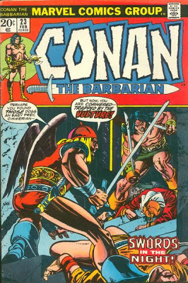 Conan the Barbarian #23, the Vulture