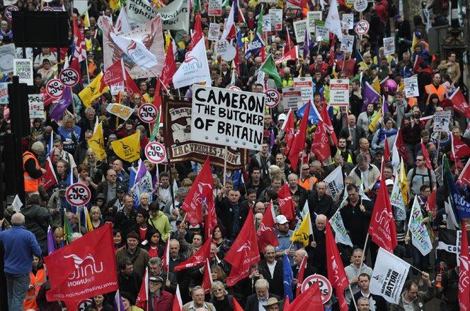Descontento en el corazon del capitalismo: el Reino Unido