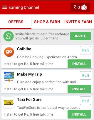 cash it back android app to earn free talktime october 2014