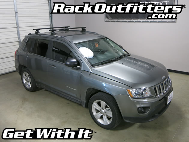 This Complete Multi Purpose Base Roof Rack Is For The 2011, 2012, 2013,  2014 And 2015* Jeep Compass SUV With Fixed Points, Identified By Flip Up  Panels Or ...