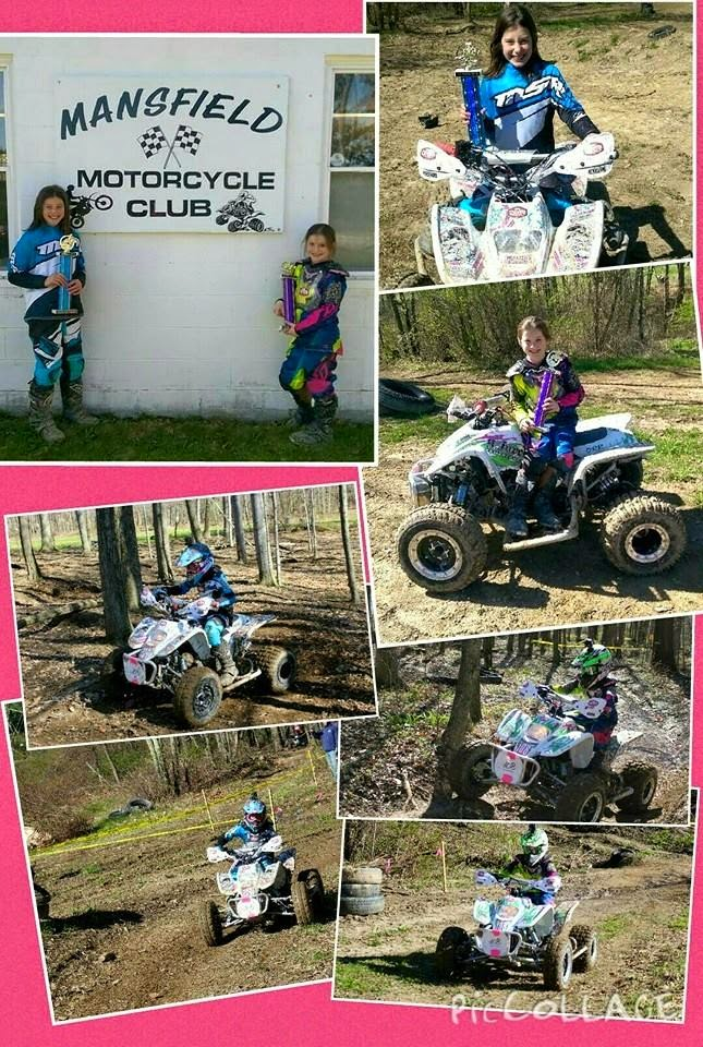 Andrea & Alyssa raced their DRR's at Mansfield on 4-26-15. Andrea placed 1st in the Jr Mini class and 3rd overall. Alyssa placed 3rd in the Jr Mini class.#DRRUSA #DRRracing #DRR
