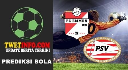 Prediksi FC Emmen vs Jong PSV, Eerste 26-09-2015