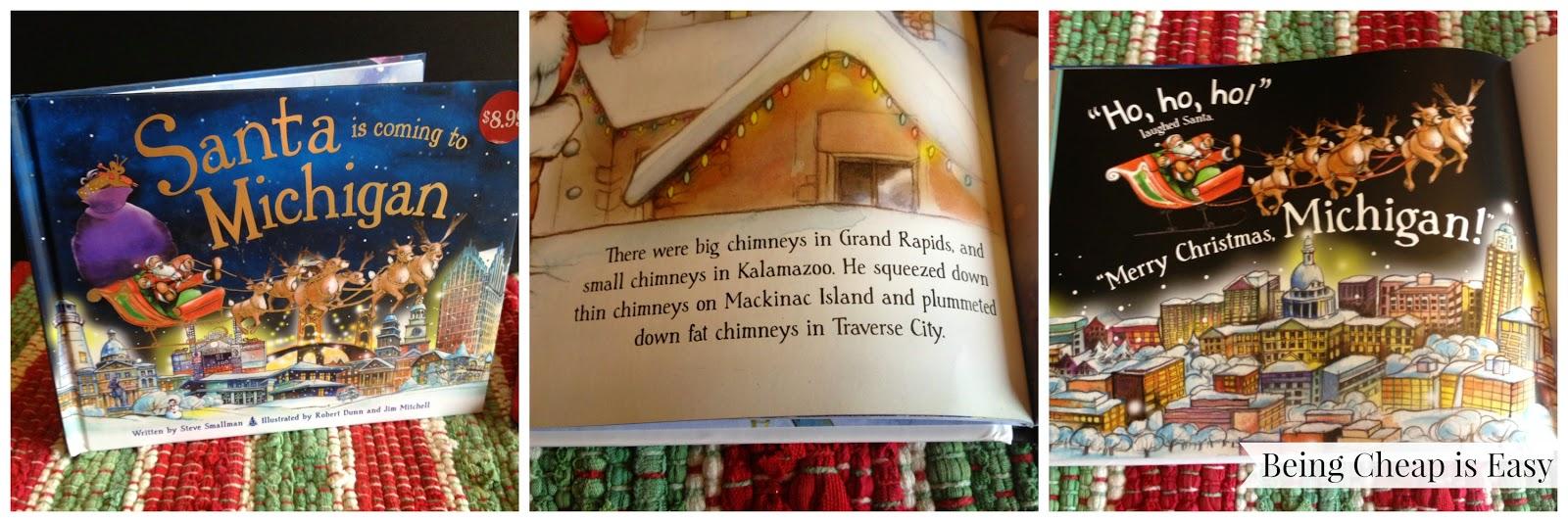 Michigan holiday books, Christmas Books, #NorthpoleFun, Hallmark, Walmart, Northpole, Santa in Michigan