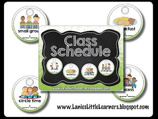 Class Schedule Superhero Theme