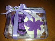 BOX LUV CHOC-S SIZE+3 PRALINES IN CLEAR CONTAINER 8cmx3cmx3cm(RM15)