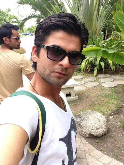 Dashing Look Of Pakistani Cricketer Ahmed Shehzad