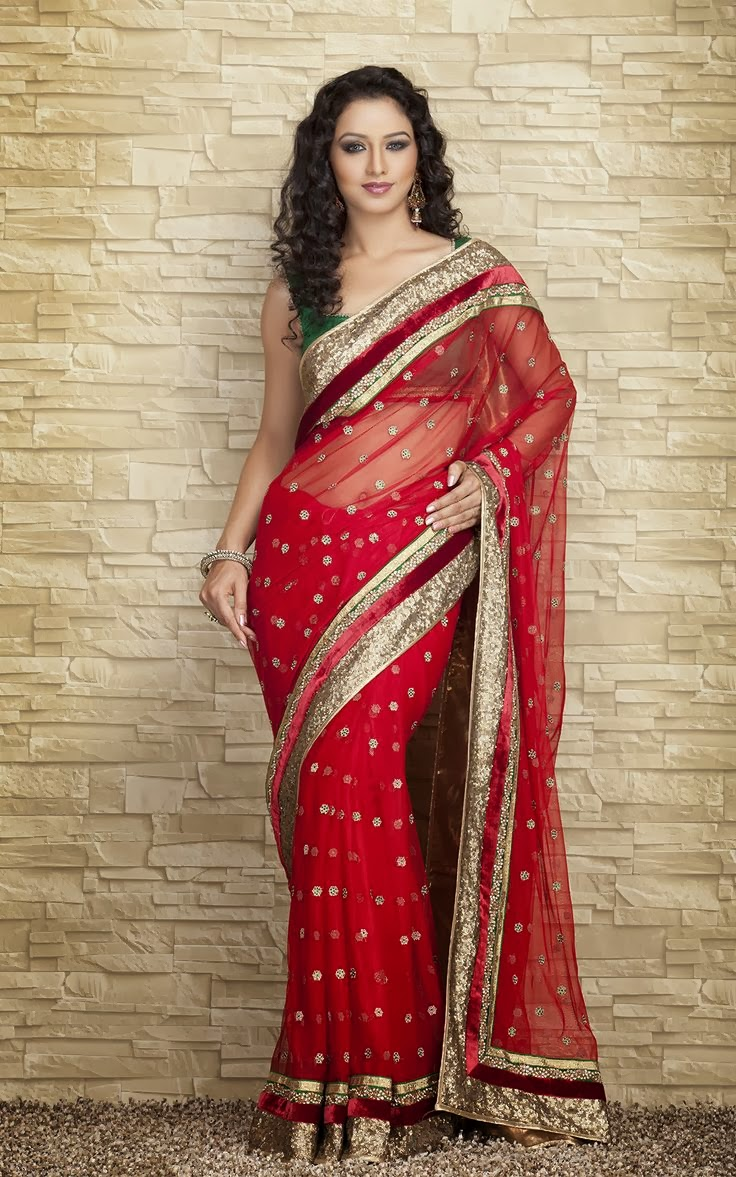 ... for a photo shoot in different Indian Wedding Sarees 2013 Collection