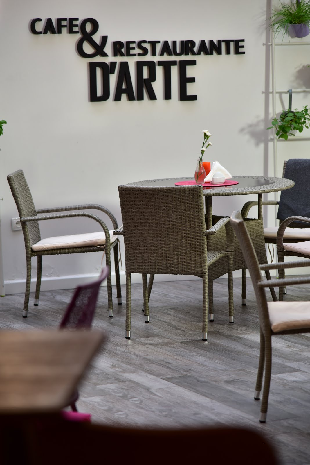 Cafe&restaurante D'arte
