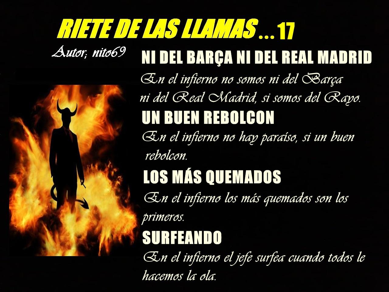 RIETE DE LAS LLAMAS...17