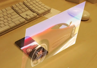 iPhone 5 laser keyboard and holographic display is not true
