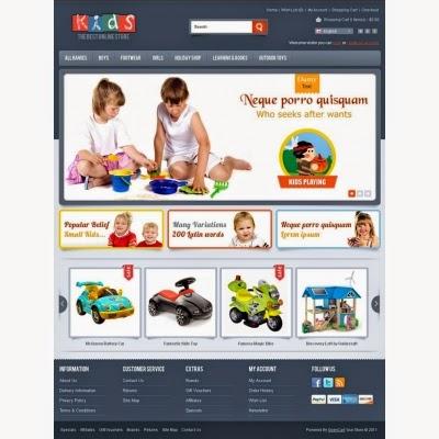 dịch vụ thiết kế website đồ mẹ và bé