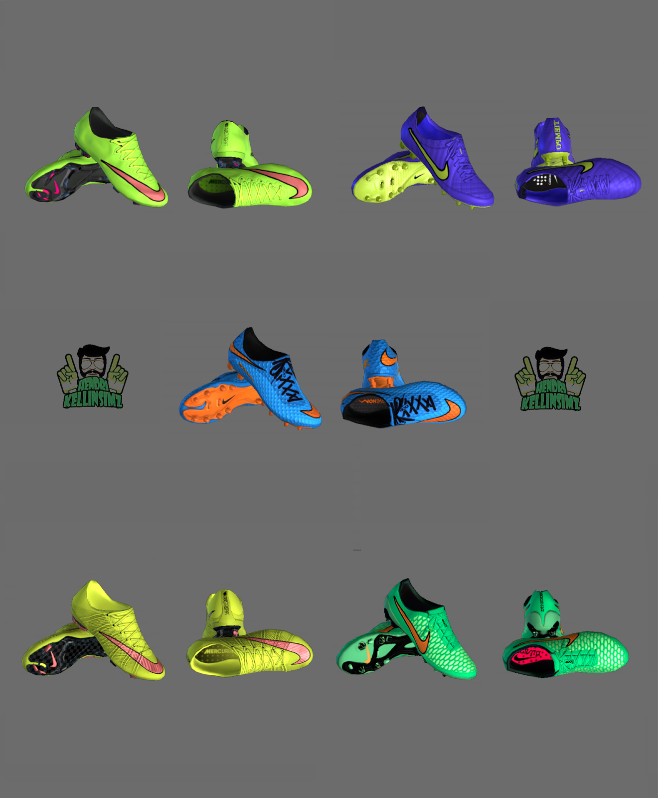 PES 2013 Nike Bootpack December 2014 by HendriSimz