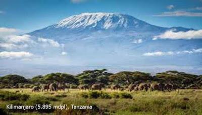 Kilimanjaro (5.895 mdpl), Tanzania