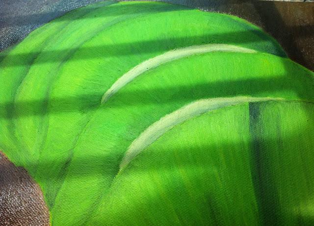 Oil painting kiwi