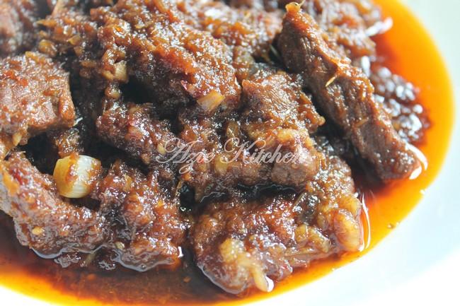 Daging Masak Hitam Yang Serius Sedap - Azie Kitchen