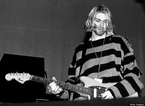 Kurt cobain biography the legend singer of nirvana test copy theme