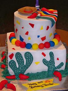 Fiesta Birthday Cake Ideas