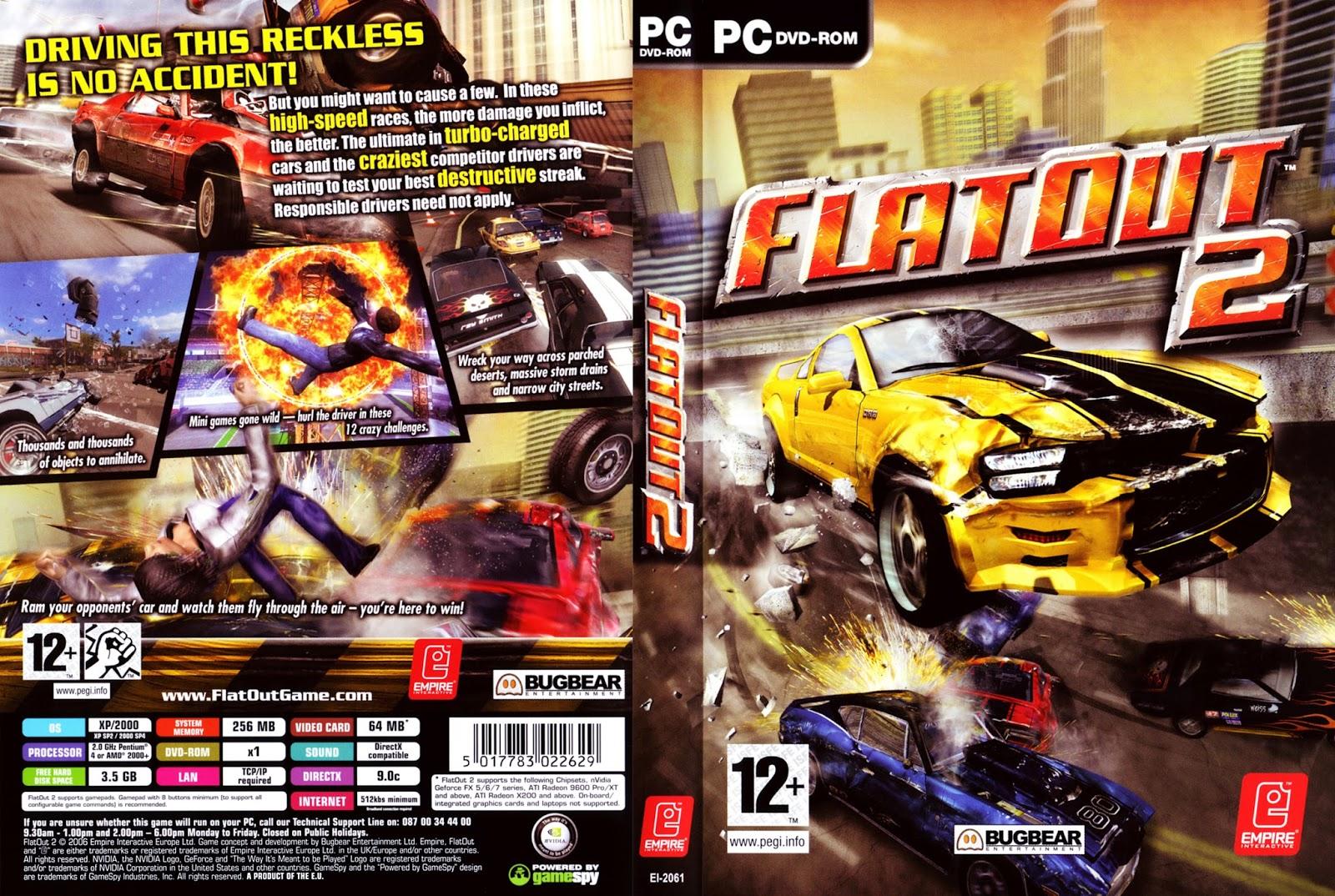 flatout 2 download gratis completo