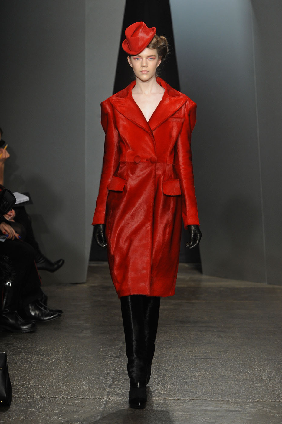 Donna Karan Fall/winter 2012 | red trend | inspiration