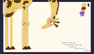 giraffe illustratoin