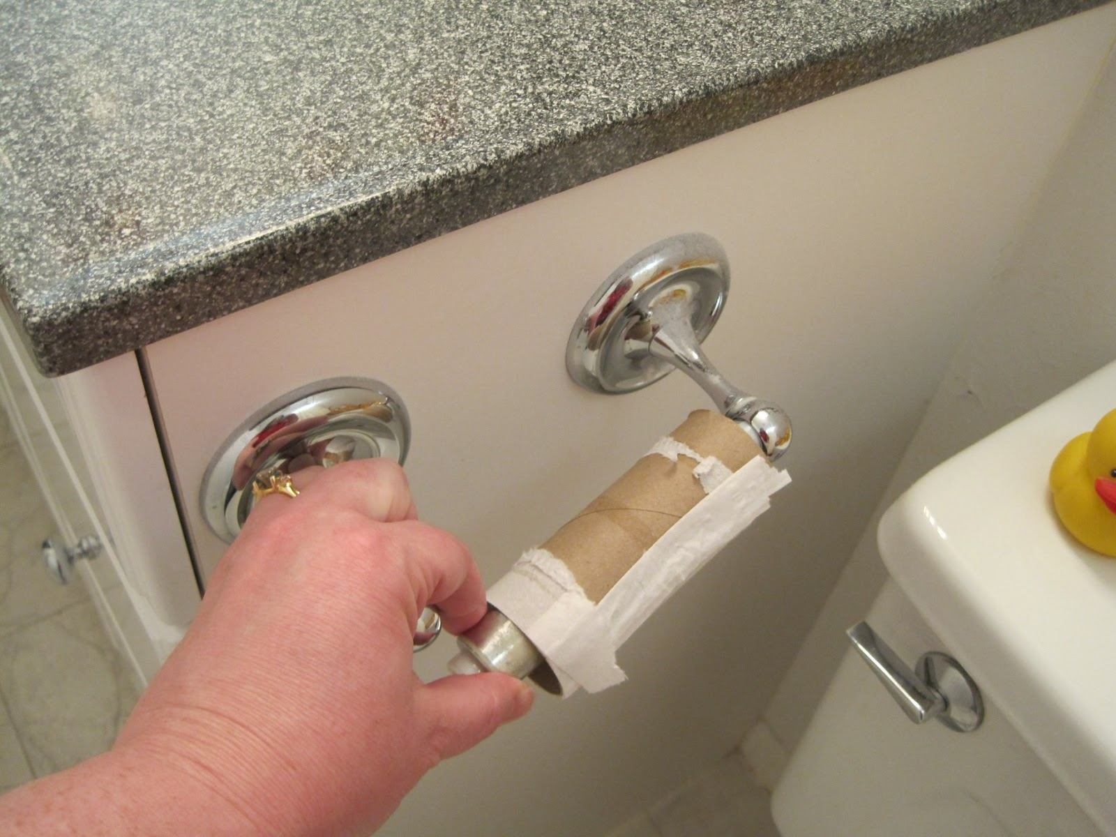 Remedial Adulthood How To Replace A Toilet Paper Roll