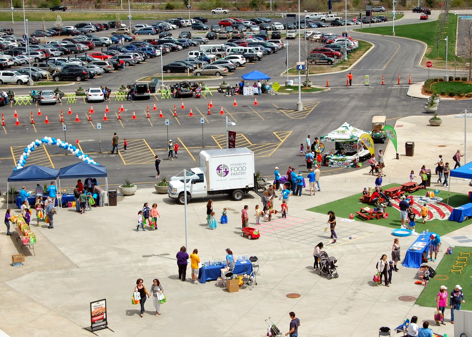 Panorama 2 of Healthy Kids Day