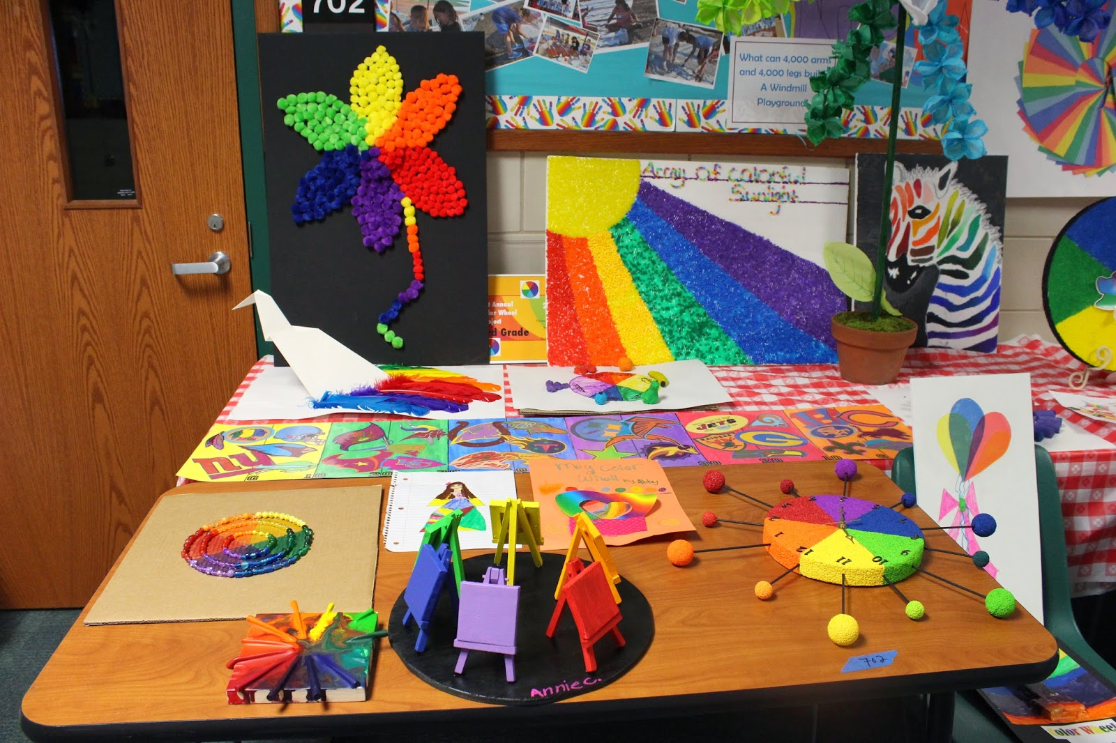 Color Wheel Project Ideas Depicts a Color Wheel