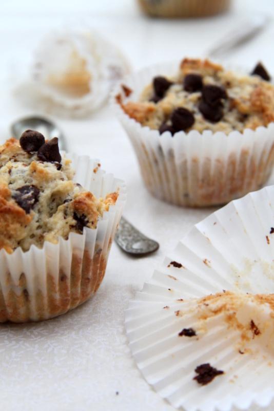 Muffiny z czekoladową kruszonką