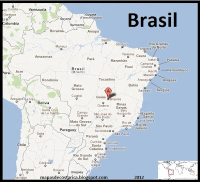 Mapa de Brasil , Google Maps