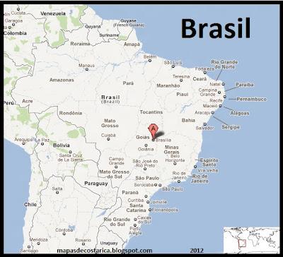 Mapa de Brasil , Google Maps
