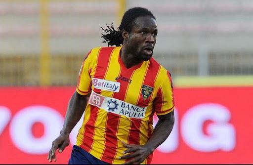 Nigeria midfielder Christian Obodo spent last season on loan at Lecce in Serie A