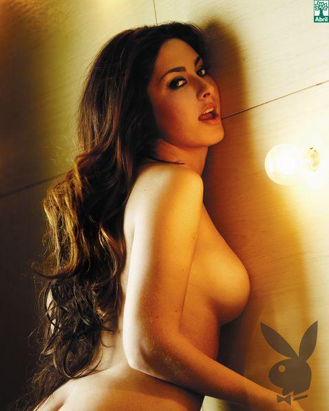 Ex BBB Francine nua na Playboy - fotos