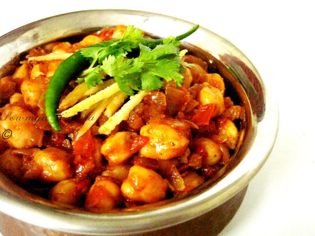 My Kitchen: Chole Masala(Chickpea curry)